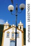 Small photo of FLORIANOPOLIS, SANTA CATARINA/BRAZIL - JAN 4TH, 2018: Old church from 1806 in the Ribeirao da Ilha neighborhood. A very bucolic and picturesque village of Azorean origin, in Floripa.