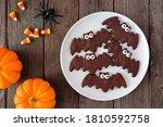Plate Of Chocolate Halloween...