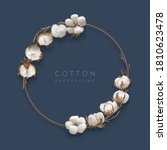 Cotton With Round Frame And...