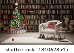 Holidays In Bookstore Concept....