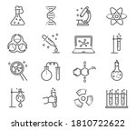 large set of black and white... | Shutterstock .eps vector #1810722622