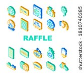 raffle lottery game collection... | Shutterstock .eps vector #1810740385
