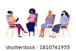 group of psychological support... | Shutterstock .eps vector #1810761955