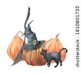 Watercolor Halloween...