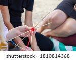 Hand Weaving Mandalas. A...