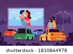 Car Cinema Romantic Movie...