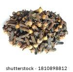dry organic cloves isolated on... | Shutterstock . vector #1810898812