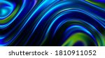 iridescent surface with wavy...   Shutterstock .eps vector #1810911052