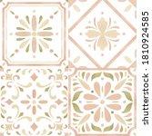 Watercolor Moroccan Mosaic Tile ...