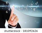 Digital Composite Of Finger...