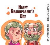 happy grandparent's day....   Shutterstock .eps vector #1810963918