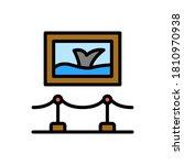 picture  sea  museum icon....