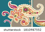beautiful traditional colorful...   Shutterstock .eps vector #1810987552