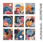 vector collection of creative... | Shutterstock .eps vector #1810987648
