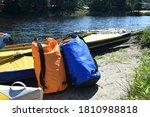 Kayaks And Airtight Gear Bags...