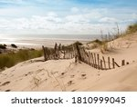 Seascape Image Of Three Rows Of ...