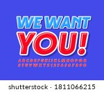 vector modern concept we want... | Shutterstock .eps vector #1811066215