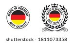 made in germany vector stamp.... | Shutterstock .eps vector #1811073358