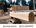 Build A House From Logs....