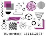 universal trend halftone... | Shutterstock .eps vector #1811212975