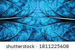 Abstract Fractal Art Background ...