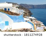 Blue Shutters And White Houses...