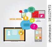 flat concept of media market...