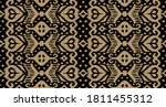 lace border. ikat seamless...   Shutterstock .eps vector #1811455312