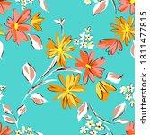 Floral Seamleass Pattern Made...