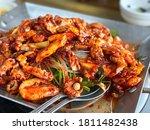 Roasted Webfoot Octopus  Fork....