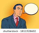 the surprised man businessman.... | Shutterstock .eps vector #1811528602