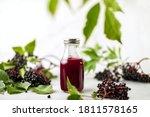 Elderberry Syrup In A Bottle ...