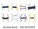 vector doodle bracket set for...   Shutterstock .eps vector #1811652595