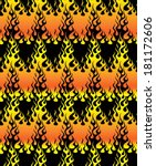 fire pattern seamless | Shutterstock .eps vector #181172606