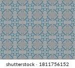 Gray Traditional Rustic X. Blu...