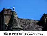 Roof Of A Large Country House...