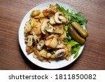 Roasted Potatoes With Mushrooms ...