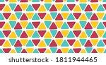 multi colored geometric pattern ...   Shutterstock .eps vector #1811944465
