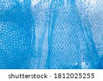 Abstract Blue Textured...