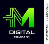 letter m logo design template... | Shutterstock .eps vector #1812029578