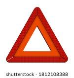 warning triangle. emergency...   Shutterstock .eps vector #1812108388