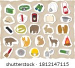 exploration illustration set... | Shutterstock .eps vector #1812147115