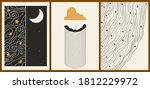 set of three abstract...   Shutterstock .eps vector #1812229972