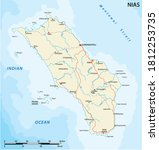 road vector map of indonesian... | Shutterstock .eps vector #1812253735