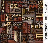 abstract african art style... | Shutterstock .eps vector #1812272635