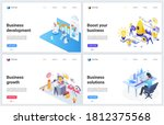 isometric technology for... | Shutterstock .eps vector #1812375568