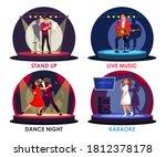 people artist performance on... | Shutterstock .eps vector #1812378178