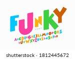 playful style font design ... | Shutterstock .eps vector #1812445672