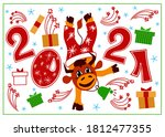 vector illustration with the... | Shutterstock .eps vector #1812477355