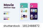 movie advisor app cartoon...